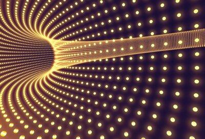 Fototapeta Tunel światła