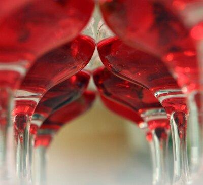 Fototapeta tunel wina powiększający restauracje