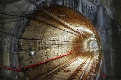 Fototapeta Tunele metra