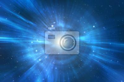 Fototapeta Turystyczna wszechświat koryta