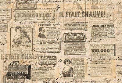 Fototapeta Twórczy tło w stylu vintage Tekstury papieru