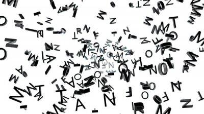 Fototapeta Typograficzny tło