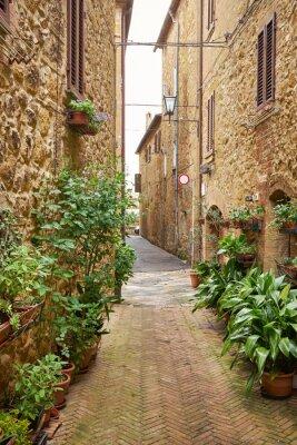 Fototapeta Typowe włoskie wąska ulica