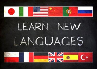 Fototapeta Uczyć się nowych języków