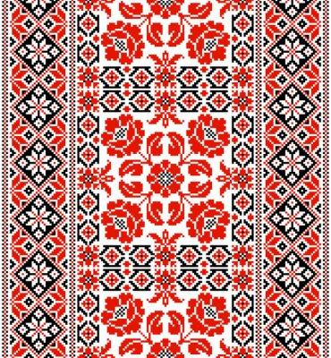 Fototapeta ukraiński ozdoba