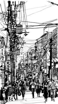 Ulica w Japonii