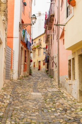 Fototapeta Ulica w starego miasta z Lizbony