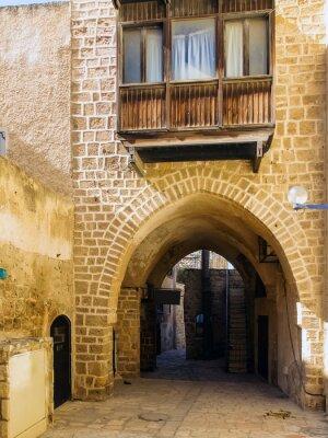 Fototapeta Ulica w Starej Jaffie.