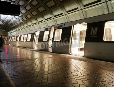 Fototapeta Union Station Metro station in Washington DC, United States