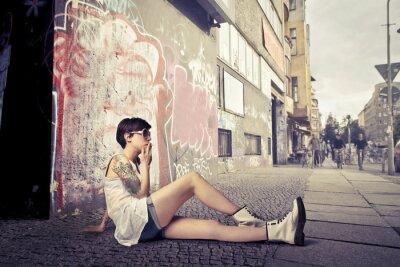 Fototapeta urban style