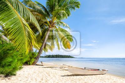 Fototapeta Urlop na plaży nad morzem