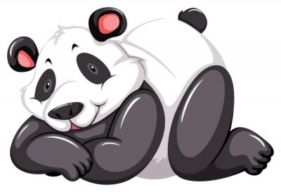 Fototapeta Urocza panda