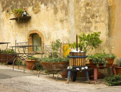 Fototapeta uroczy włoski street
