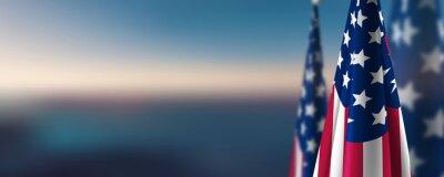 Fototapeta usa flag