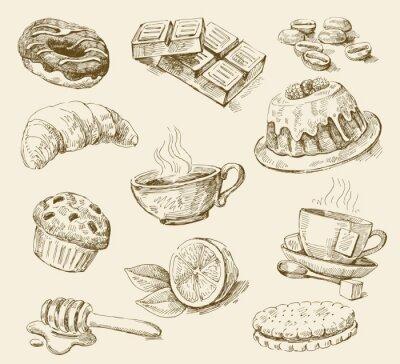 Fototapeta Ustaw żywności