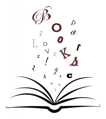 Fototapeta Uwielbiam książki