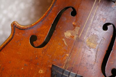 Fototapeta Używane skrzypce
