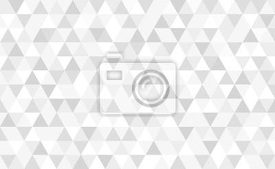 Vector gray triangular mosaic background. Abstract retro geometric pattern.