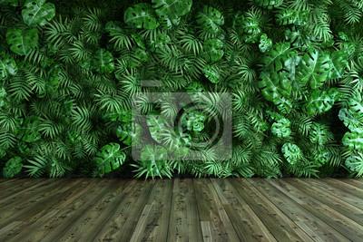 Fototapeta Vertical garden wall
