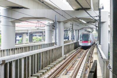Fototapeta very high-speed train