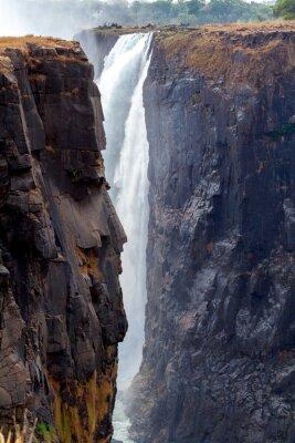 Fototapeta Victoria Falls z gówna z wody