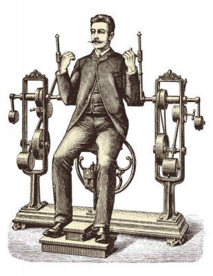 Fototapeta Victorian trening (1)