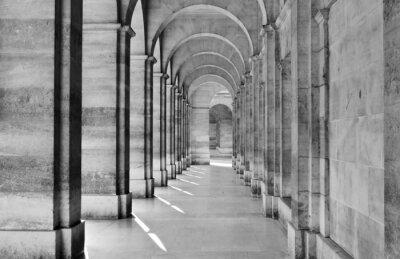 Fototapeta View of colonnade
