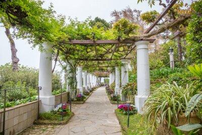 Fototapeta Villa San Michele à Capri