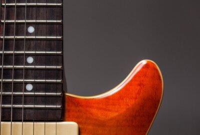 Fototapeta Vintage gitara elektryczna