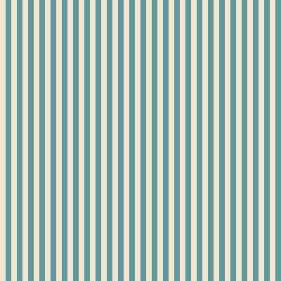 Fototapeta Vintage niebieskie i beżowe paski bezszwowe tło wzór Zapisane