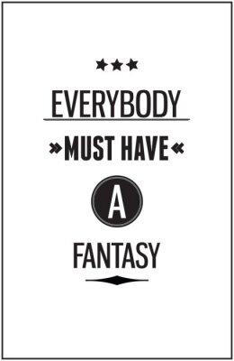 Fototapeta Vintage plakat typografia motywacyjny dla inspirująca