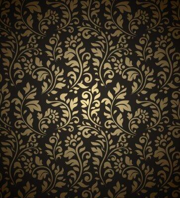 Fototapeta Vintage seamless pattern