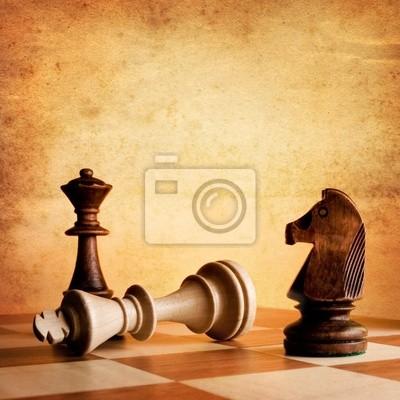 Vintage szachy