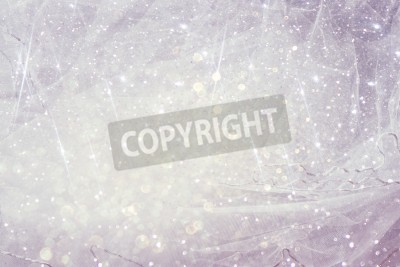 Fototapeta Vintage Tulle szyfonu tekstury tła z glitter nakładki. Koncepcji ślubu