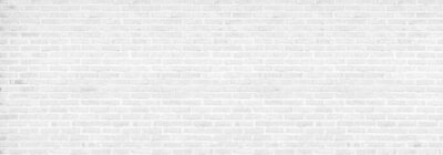 Fototapeta vintage white brick wall texture background
