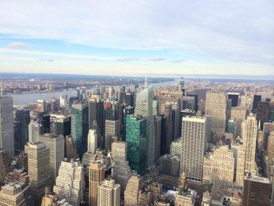 Fototapeta Vista Panramica de Nueva York