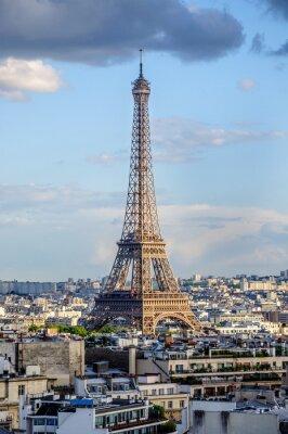 Fototapeta Vues de l'Arc de Triomphe