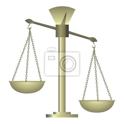 Wagi do żywności diety i sprawiedliwości