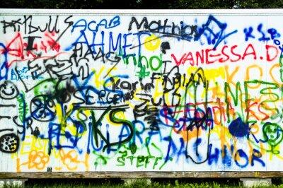 Fototapeta Wandbemalung und Graffiti
