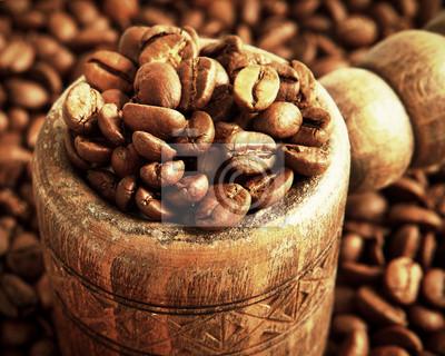 wanna z ziaren kawy