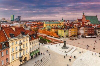Fototapeta Warszawa Plac zamkowy