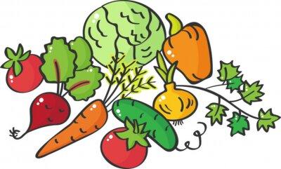 Fototapeta Warzywa