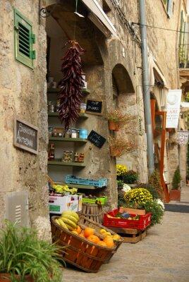 Fototapeta Warzywami w Valldemossa na Majorce