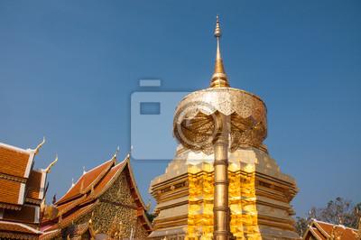Wat Phrathat Doi Suthep świątynia w Chiang Mai w Tajlandii.