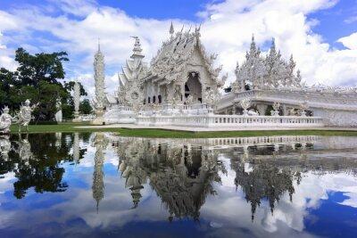 Fototapeta Wat Rong Khun, Refleksje.