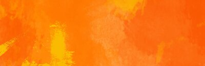 Fototapeta Watercolor red and orange color abstract banner.