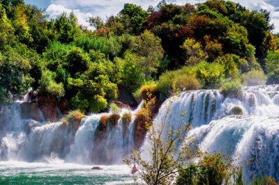 Fototapeta Waterfalls Krka