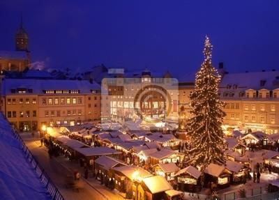 Weihnachtsmarkt W.Fototapeta Weihnachten Weihnachtsmarkt W Annaberg Buchholz Na