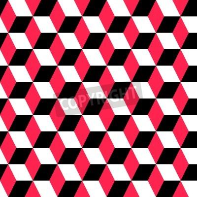 Fototapeta Wektor abstrakcyjne bezszwowych ornamentem geometrycznym