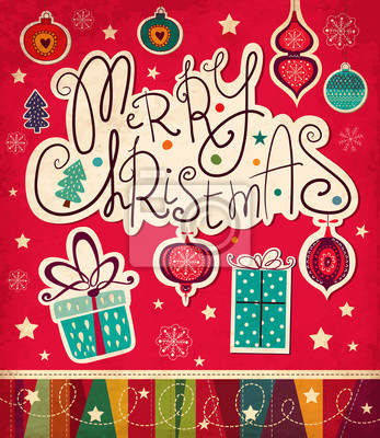 Wektor Christmas card